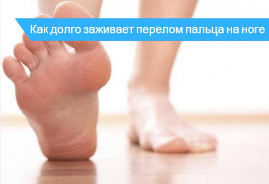 Сколько заживает перелом мизинца на ноге 🔎 - возможные осложнения