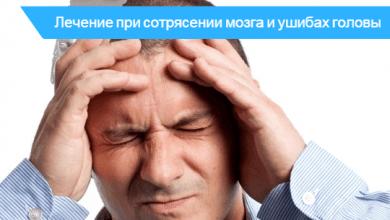 сотрясение головного мозга от ушиба мозга отличается