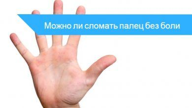 как сломать палец на руке без боли